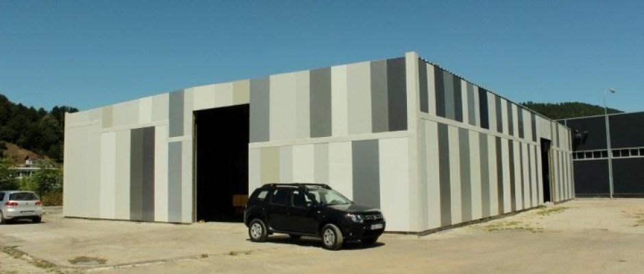 Posjeta načelnika Armina Halitovića novom objektu u izgradnji u Poslovnoj zoni Pilana