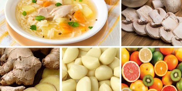 5 Mejores alimentos para curar un resfrío
