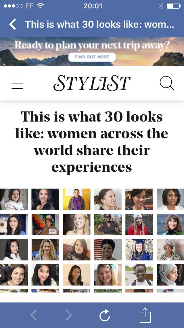 Dr Clare featured by STYLIST Magazine, 2nd March 2016