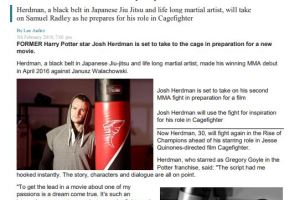 PR Results for @woolfcubpro @cagefightermov Film PR