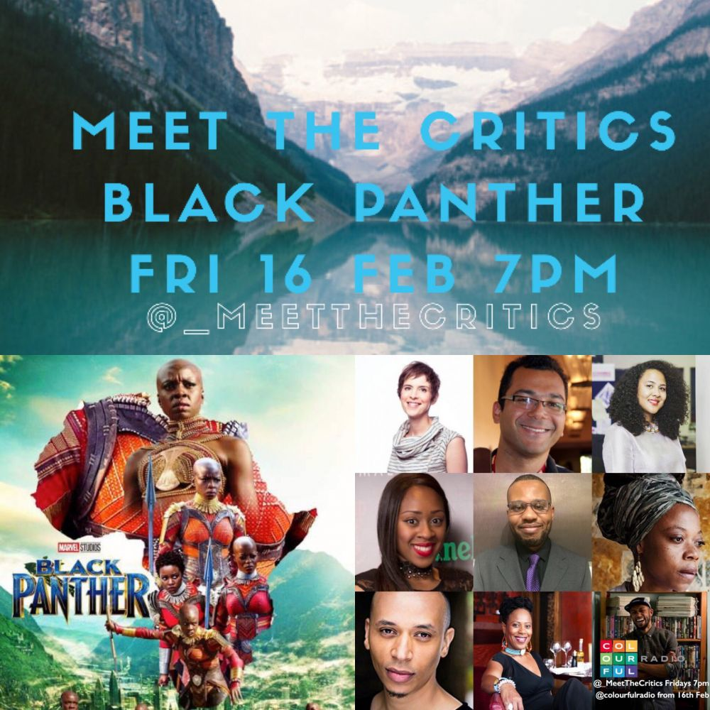 EXCLUSIVE: Studio audience tickets released today for @_MeetTheCritics  @TheBlackPanther special on @ColourfulRadio Fri 16 Feb 7pm