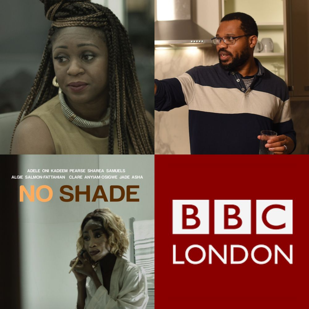 Filmmaker @clareanyiamo + producer @emmanuelanyiamo LIVE @BBCRadioLondon discussing @noshadefilm