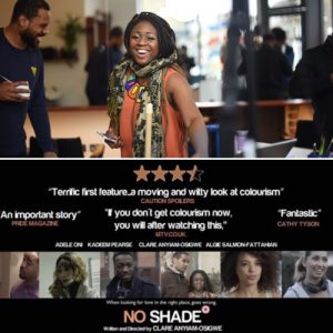 . @cautionspoilers interviews @noshadefilm Writer/Director/Actress @clareanyiamo #FemaleFilmmakerFriday
