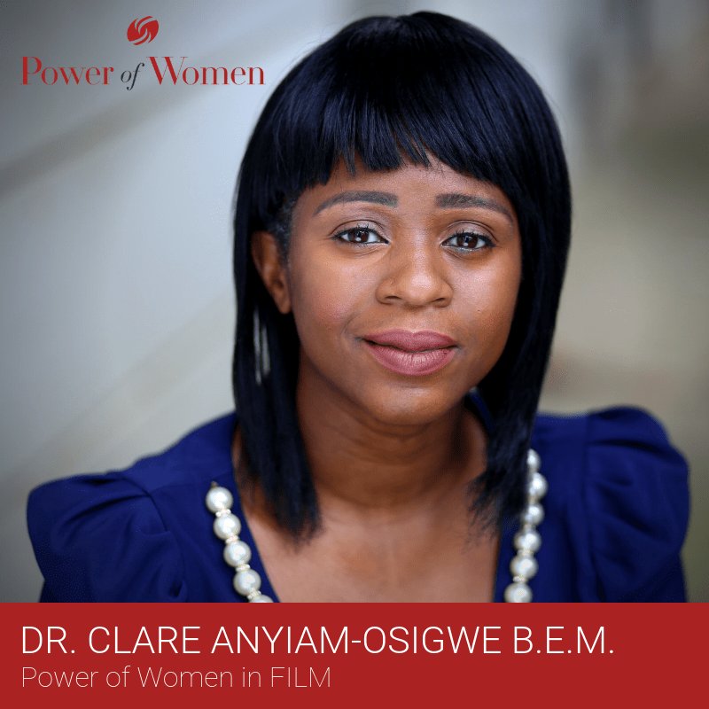 DRESS FOR SUCCESS GREATER LONDON announces its 3rd annual POWER OF WOMEN awards, @clareanyiamo to receive Power Women in Film Award as writer, director, actress due the global success @noshadefilm  & co-founded production company @bufforiginals