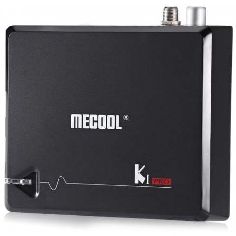 29% off MECOOL KI PRO TV Box – BLACK 2+16G EU Gearbest Coupon Promo Code