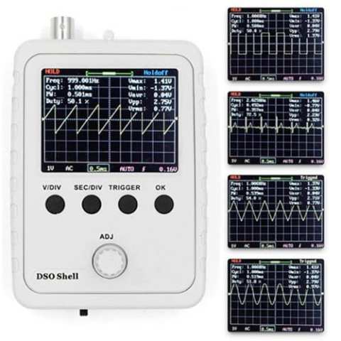 34% off DSO150 Handheld Digital DIY Oscilloscope Set – WHITE Gearbest Coupon [Brazil-Portugal]