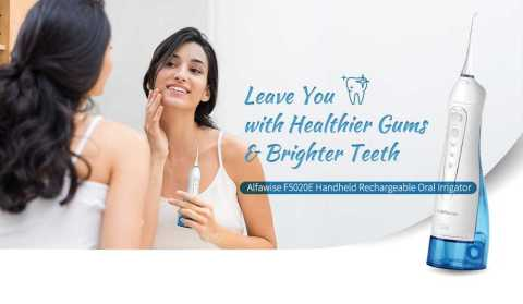 Alfawise F5020E - Alfawise F5020E Handheld Rechargeable Oral Irrigator Gearbest Coupon Promo Code