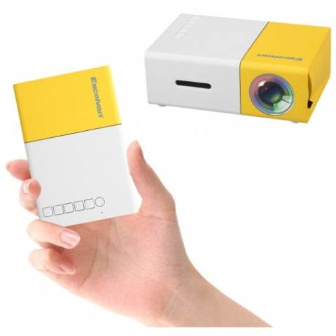 24% off Excelvan YG300 Mini Home Theater Projector for Kids à $31.99 Gearbest Coupon Promo Code