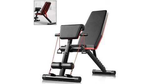 5 in 1 Gym Bench - 5-in-1 Gym Bench Machine Banggood Coupon Promo Code