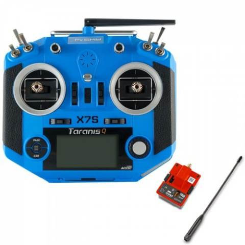 28% off Frsky 2.4G 16CH ACCST Taranis Q X7S Transmitter with R9M 900MHz Transmitter Module – BLUE Gearbest Coupon Promo Code
