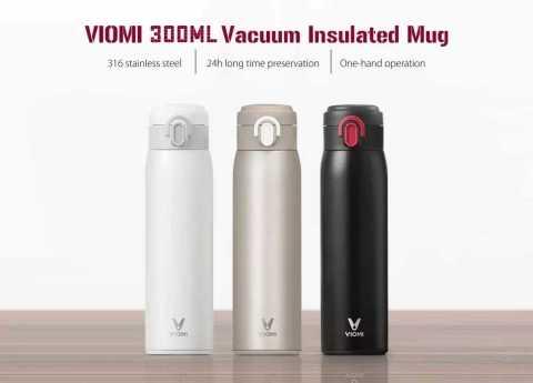 VIOMI 300ML Stainless Steel Thermose - Xiaomi VIOMI 300ML Stainless Steel Thermos Banggood Coupon Promo Coupon