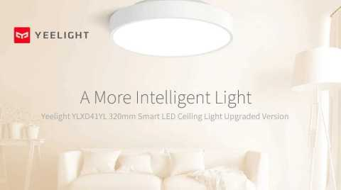 xiaomi yeelight ylxd41yl 320mm smart led ceiling light