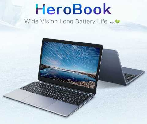 CHUWI Hero book - CHUWI HeroBook Laptop Gearbest Coupon Promo Code [4+64GB]
