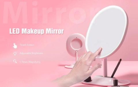 FASCINATE LED Makeup Mirror - FASCINATE LED Makeup Mirror Gearbest Coupon Promo Code