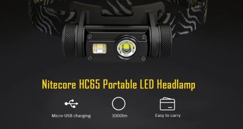 nitecore hc65 led headlamp