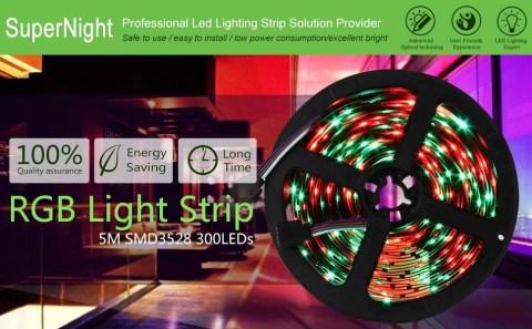 SUPERNIGHT 5M SMD 3528 Light Strip - SUPERNIGHT 5M SMD 3528 Light Strip Amazon Coupon Promo Code