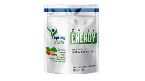 Spring of Life Daily Energy Superfood - Spring of Life Daily Energy Superfood Amazon Coupon Promo Code