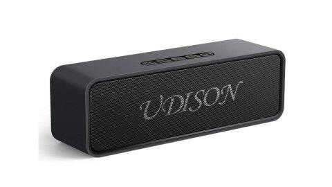UDISON Bluetooth speakers - UDISON Wireless Bluetooth 5.0 Stereo Speakers Amazon Coupon Promo Code