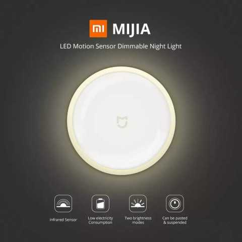Xiaomi MiJIA MJYD01YL LED Motion Sensor Dimmable Night Light