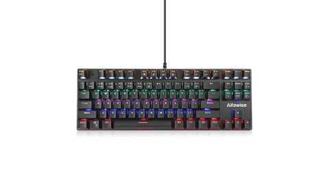 alfawise k1 led backlit mechanical keyboard blue switch