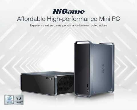 CHUWI HiGame - CHUWI HiGame Mini PC Gearbest Coupon Promo Code [Intel Kaby Lake-G I7-8709G]