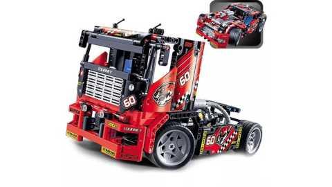 Decool 3360 608pcs Race Truck Car 2 In 1 Transformable Model - Decool 3360 608pcs Race Truck Car 2 In 1 Transformable Model Banggood Coupon Promo Code