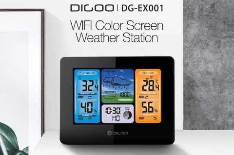 Digoo DG EX001 - Digoo DG-EX001 WIFI APP Smart Weather Station Banggood Coupon Promo Code