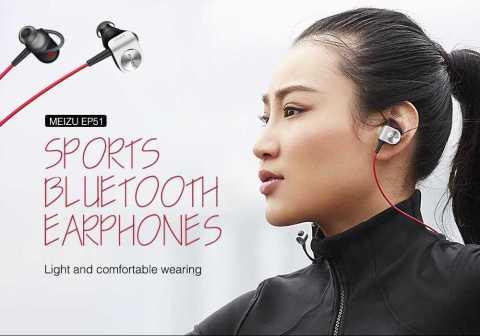 MEIZU EP51 Wireless Bluetooth HiFi Earphones - MEIZU EP51 Wireless Bluetooth HiFi Earphones Gearvita Coupon Promo Code