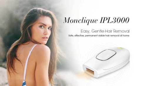 Monclique IPL3000 - Monclique IPL3000 IPL Hair Removal Device Gearbest Coupon Promo Code