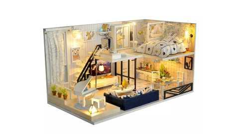 Time Shadow Modern Doll House Miniature DIY Kit Dollhouse - Time Shadow Modern Doll House Miniature DIY Kit With Furniture Banggood Coupon Promo Code