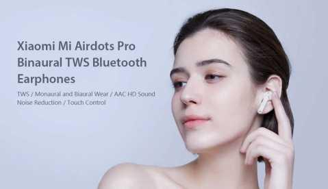 xiaomi mi airdots pro tws bluetooth earphones