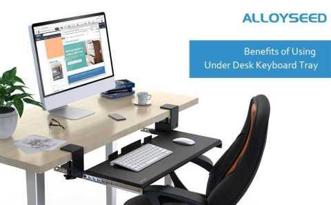 Alloyseed Under Desk Keyboard Tray - Alloyseed Under Desk Keyboard Tray Amazon Coupon Promo Code