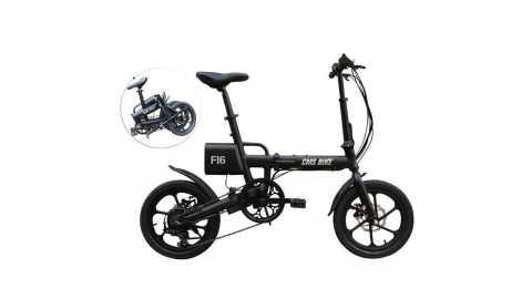 CMSBIKE F16 folding bike - CMSBIKE F16 Folding Electric Bicycle Banggood Coupon Promo Code
