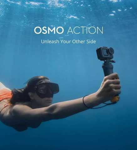 dji osmo action dual screens 4k action camera
