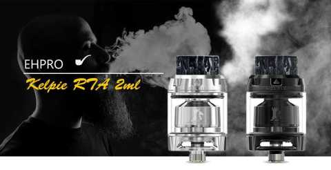 EHPRO Kelpie Vapor RTA 2ml - EHPRO Kelpie Vapor RTA 2ml Gearbest Coupon Promo Code