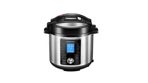 Omorc Pressure Cooker - Omorc 10-In-1 Programmable Electric Pressure Cooker Amazon Coupon Promo Code