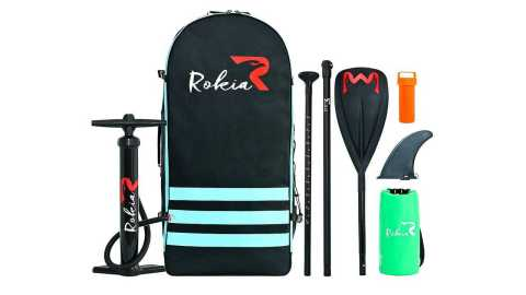 "Rokia R 10 6 Inflatable SUP Stand Up Paddle Board - Rokia R 10'6"" Inflatable SUP Stand Up Paddle Board Amazon Coupon Promo Code"