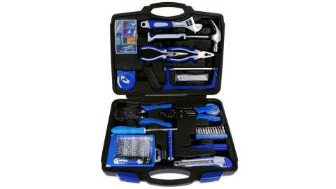 Rovtop 120 Pieces General Household Tool Kit - Rovtop 120 Pieces General Household Tool Kit Amazon Coupon Promo Code