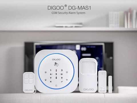 Digoo DG MAS1 Wireless GSM Security Alarm System Kits - Digoo DG-MAS1 Wireless GSM Security Alarm System Kits Banggood Coupon Promo Code