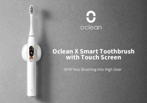 xiaomi oclean x smart electric toothbrush