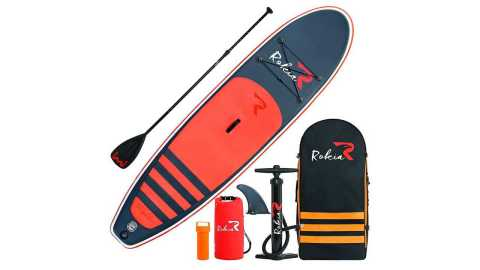 "Rokia R 10 6 Inflatable SUP Stand Up Paddle - Rokia R 10'6"" Inflatable SUP Stand Up Paddle Board Amazon Coupon Promo Code [Orange]"