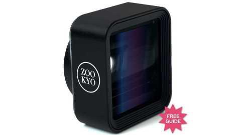 Anamorphic iPhone Android Camera Lens Kit Cinema Series - ZOOKYO Anamorphic Mobile Phone Camera Lens Kit Cinema Series Amazon Coupon Promo Code