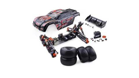 zd racing 9021-v3 brushless truggy frame diy rc car kit
