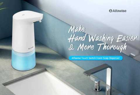 alfawise ad – 1807 automatic foaming soap dispenser