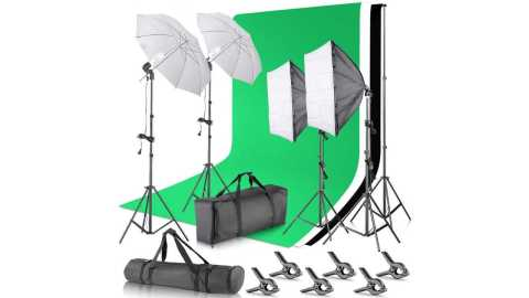Neewer Background Support System and Umbrellas Softbox Lighting Kit - Neewer Background Support System and Umbrellas Softbox Lighting Kit Amazon Coupon Promo Code