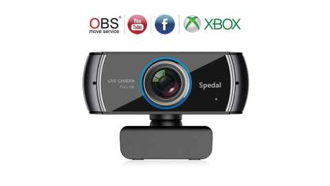 Spedal 920 - Spedal 920 Full HD Webcam Live Streaming Gearbest Coupon Promo Code