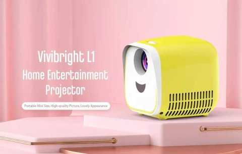 Vivibright L1 - Vivibright L1 LCD Projector Banggood Coupon Promo Code [Czech Warehouse]