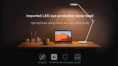 xiaomi mijia mtjd02yl portable eye-protection led desk lamp
