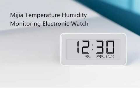 xiaomi mija temperature humidity monitor