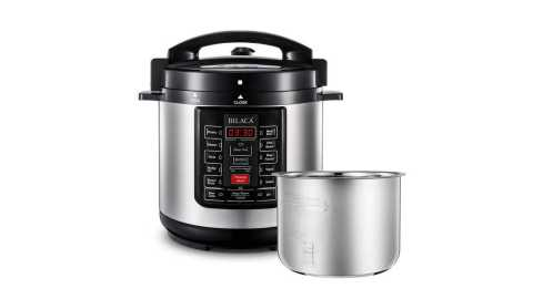 BILACA 6 Qt 9 in 1 - BILACA 6 Qt 9-in-1 Multi Programmable Pressure Cooker Amazon Coupon Promo Code